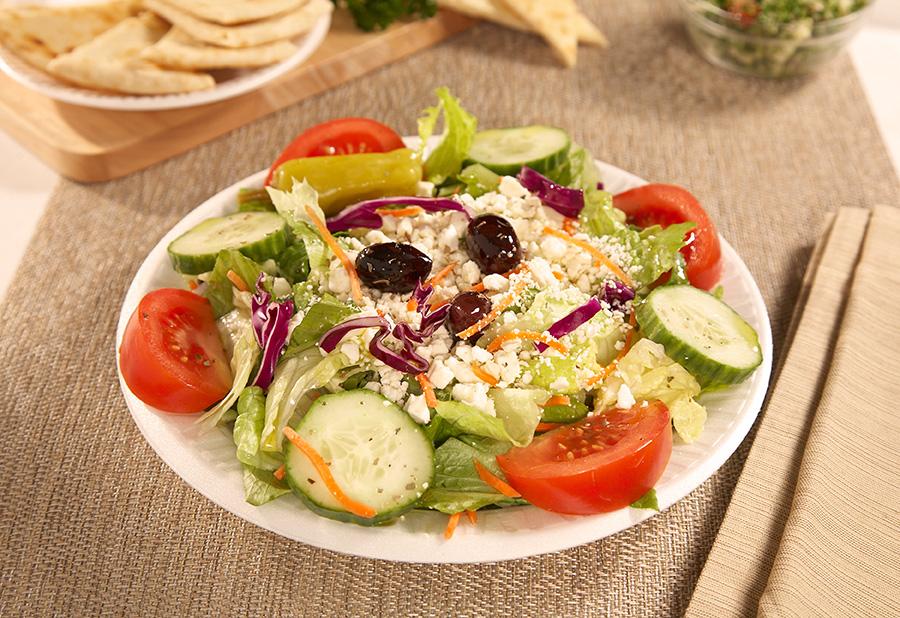 Greek salad - Healthy greek recipes for dinner mediterranean savour ...