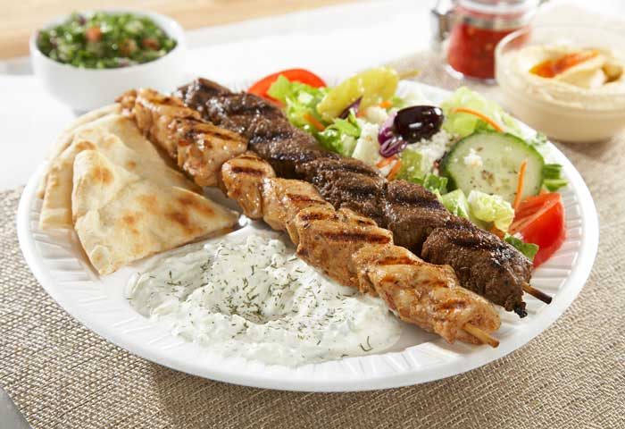 Greek Restaurant Mediterranean Food Raleigh Greek Fiesta