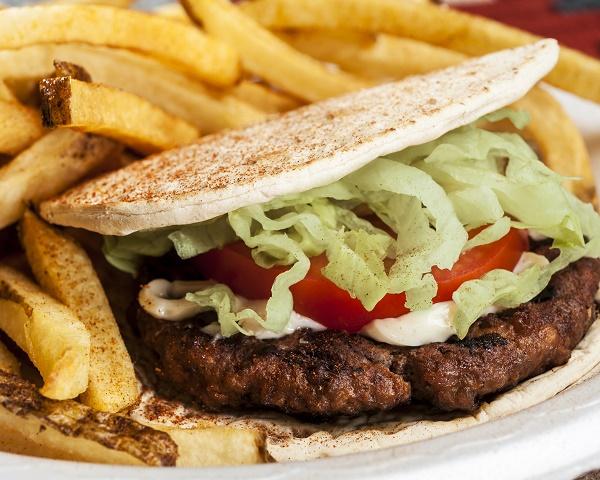 Greek Burger in Raleigh NCcr4x6