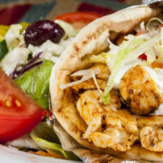 Grilled Chicken Breast Pita